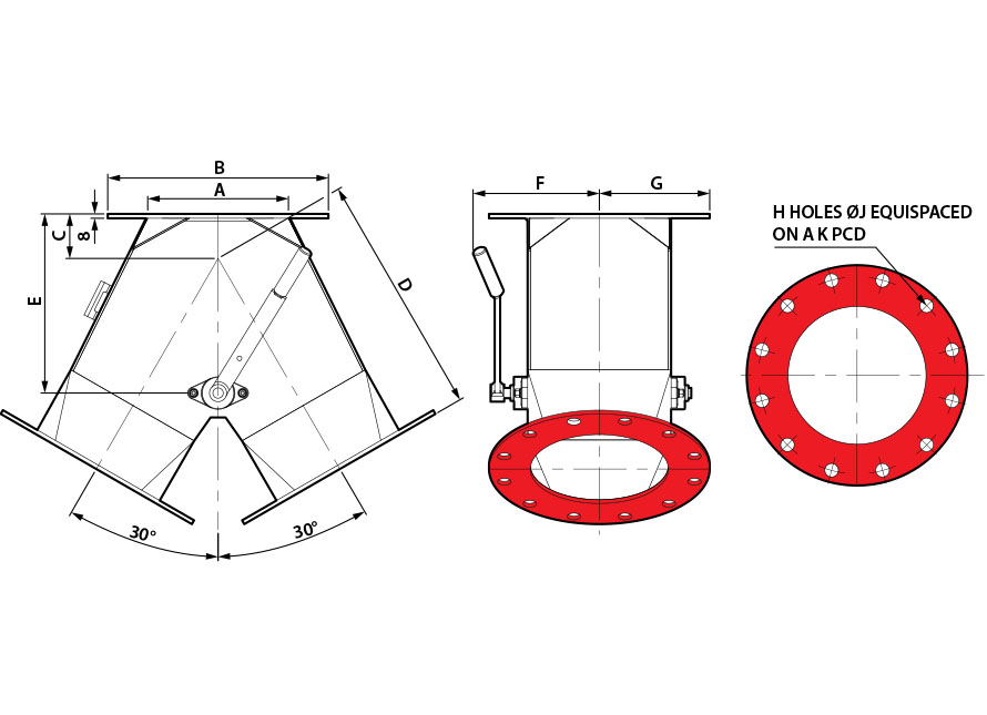 30x30 Round Manual GDV