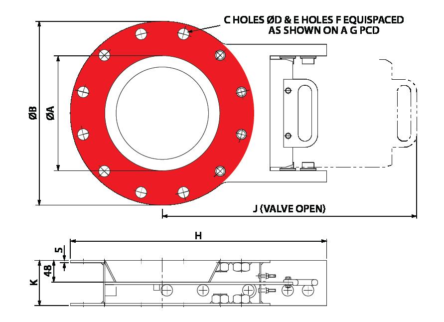 Slide Valve Manual Circular GA-01 australia